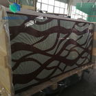 Glass Tempered Print Glass Silk Screen Printing Tempered Laminated Glass Building