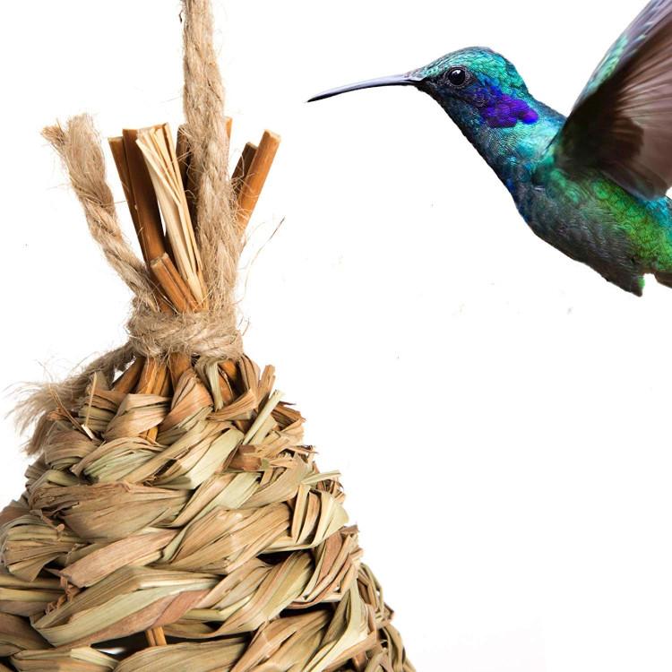 Kandang Burung Rumput Alami Gantung Tangan Burung Kolibri Tempat Istirahat Buatan Tangan Memberikan Tempat Berlindung Rumah Burung Tersembunyi Buy Burung Rumah Di Luar Sarang Gantung Tangan Rumput Alami Burung Hummingbird Tempat