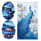 MEIAN amazon Drill Square diamond painting Cross Stitch Mosaic Kit 5D DIY Diamond Painting