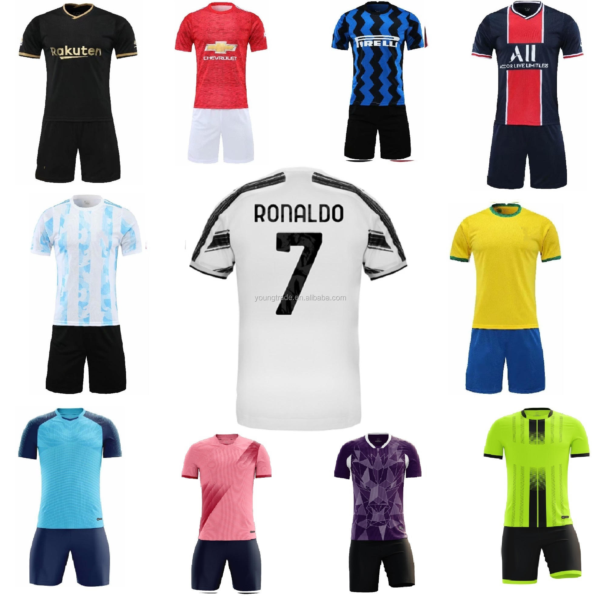 2020 2021 Custom Sublimation Football Jersey Soccer Jersey Soccer Wear View Football Jersey Oem Product Details From Guangzhou Brilliant Trading Co Ltd On Alibaba Com