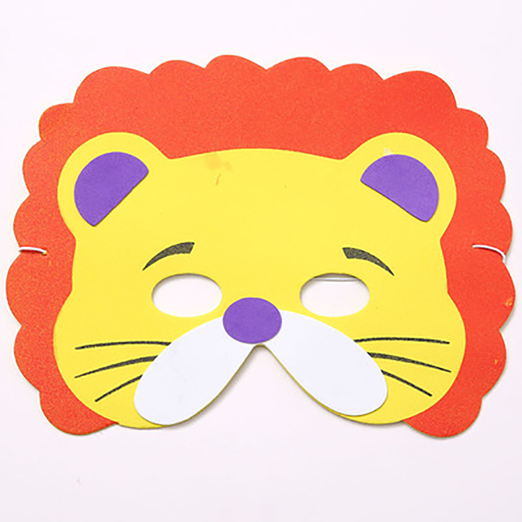 Cheap Gold Disposable Eye 3d Animal Facial Diy Paper Sheet Costume Party Eye Mask , Face Mask Child , Bubble Face Mask