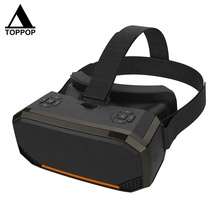 Realidade <span class=keywords><strong>Virtual</strong></span> inteligente Montar Cabeça 2 K 2560*1440 Tela HD All in One VR Óculos 3D WI-FI Privado teatro Movie Game Estéreo Capacete