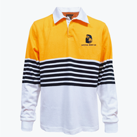 Traditional Rugby Stripe Knit Jersey