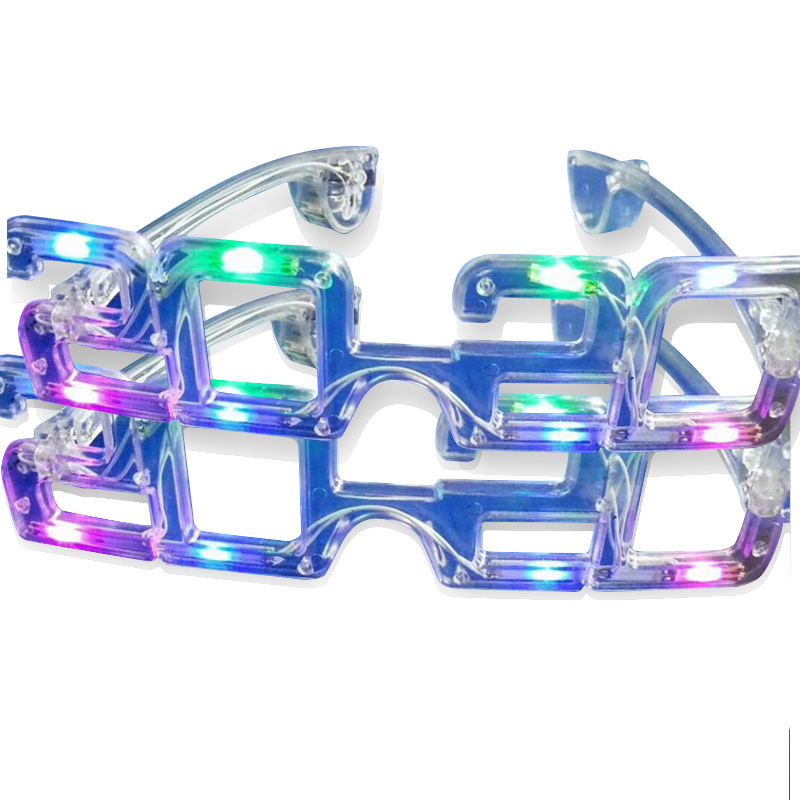 50 2018 Ligthup Happy New Years Glasses Party Supplies Lentes Ano Nuevo