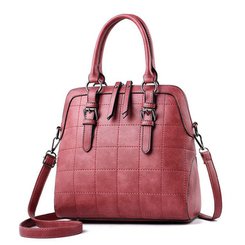 china Classical design of weave handbag PU leather bags women