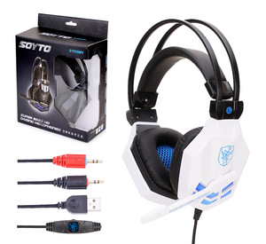 Golden Sky Hot Selling Gamer Headphones Gaming Headset 3.5Mm Earphone Headband With Microphone Led Gaming Headset Wholesale