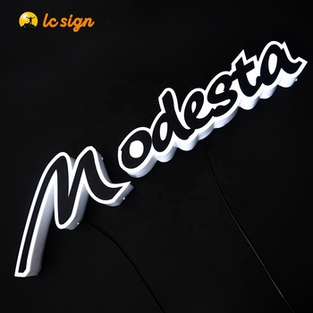 Customized 3D Outdoor Advertising LED Illuminated Acrylic Mini Channel Letter Sign in