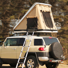 Roof Tent Cuckoo ABS Hardshell Car Roof Leaning Tent Road Trip Outdoor Equipment Camping Off-ground Tent