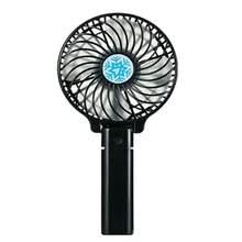 Портативный мини-вентилятор для путешествий, Настольный портативный ручной вентилятор с зарядкой от Usb 1200 мА · ч, Usb вентилятор-кулер(Китай)