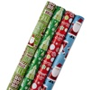/product-detail/customize-wholesale-christmas-wrapping-paper-gift-present-tree-santa-wrap-decorative-xmas-party-roll-62260541177.html