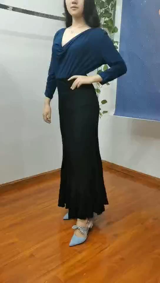 2019 最新のファッションデザイナーレディース鉛筆スカートレディースロングスカート夏