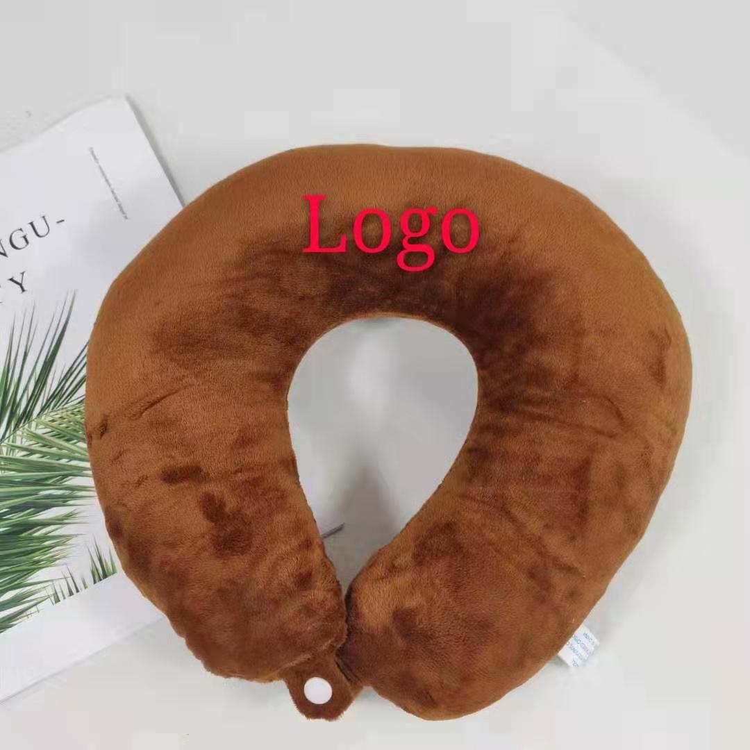 Progettazione personalizzata di massaggio a forma di U auto cuscino viaggio cuscino del collo all'ingrosso