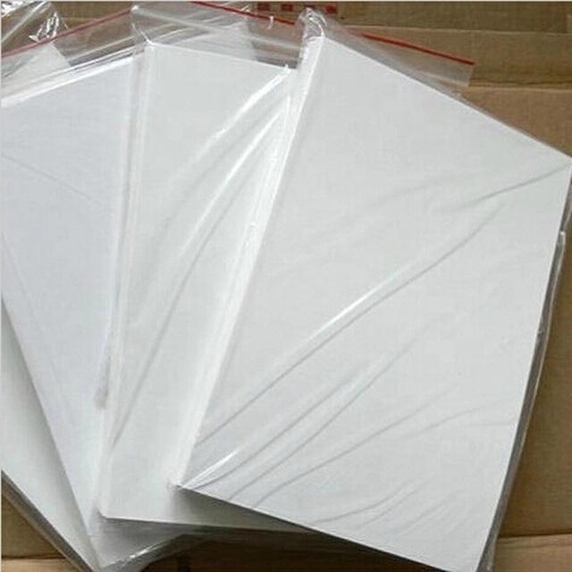 Mejor precio al por mayor láser tobogán de agua papel de calcomanía de papel de transferencia de agua