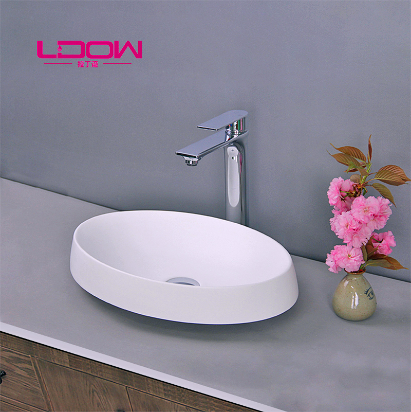 resin worktop basin bathroom sink valve washbasin vanity