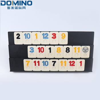 custom singapore malaysia japanese american rummy mahjong game luxury travel ruler rummy set chinese