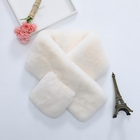 Fashionable high quality rabbit fur whole skin double-sided scarf ladies warm scarf