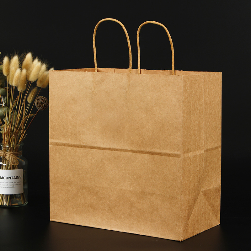 product-Dezheng-Wholesale cheap customized size colorful kraft paper bag-img