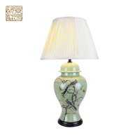 Ceramic hotel led decoration table lamp