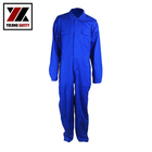 Safety Clothing Blue Men's Winter Coveralls