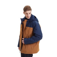 Groothandel Mode Heren Winter Warm Hooded Heren Jas Jas
