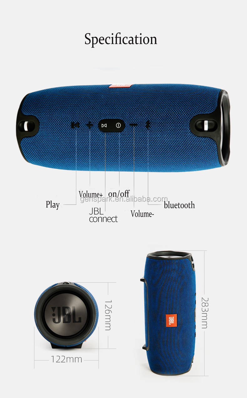 China Memproduksi JBL Ekstrim Nirkabel Bluetooth JBL Speaker Outdoor