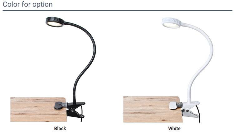 Başucu led göz koruması masa lambası klipleri okuma enerji tasarrufu çalışma