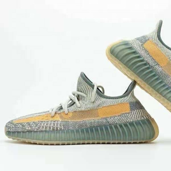 2021 New design woven upper yeezy 350 Cloud White breathable fashion sneakers yeezy 450 running sport Men's shoes