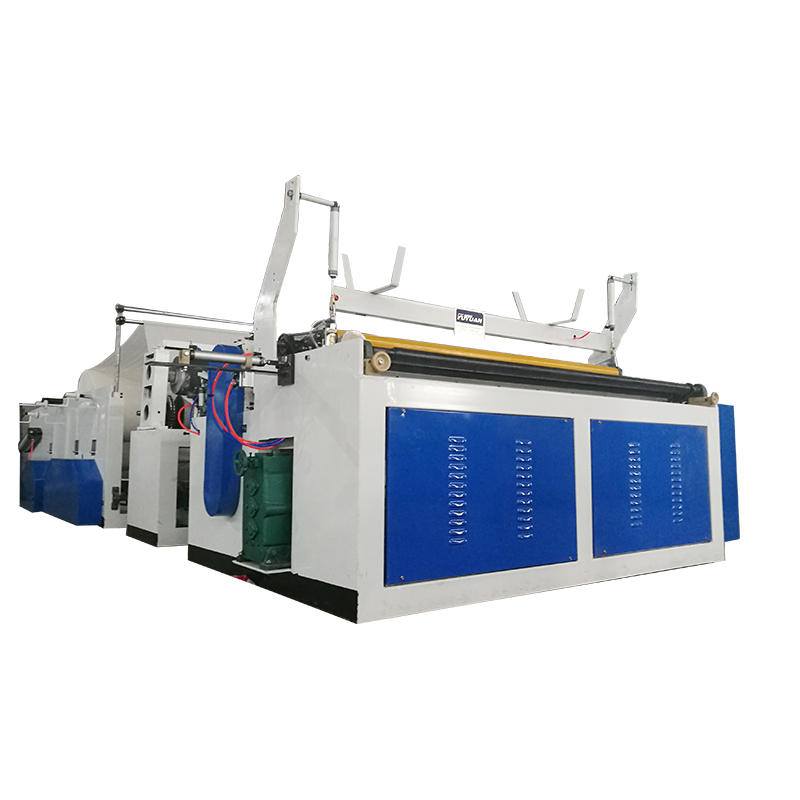 Automatic Perforating Rewinder Embossed Toilet Tissue Paper Making Machine