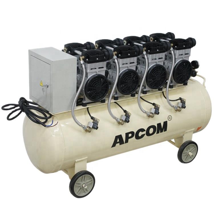 Aircompressor APCOM EX1500*4-160 6kw Oil-Free Air Compressors With 160L 160 Litre Air Tank Air-compressor