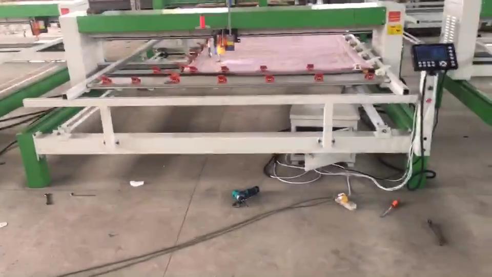 산업용 단일 바늘 헤드 퀼팅 전산화된 이불 퀼트 기계