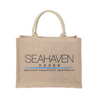 Hot selling Reusable Natural Non Woven Canvas Cotton Jute Tote Shopping Bag Custom Logo Printed