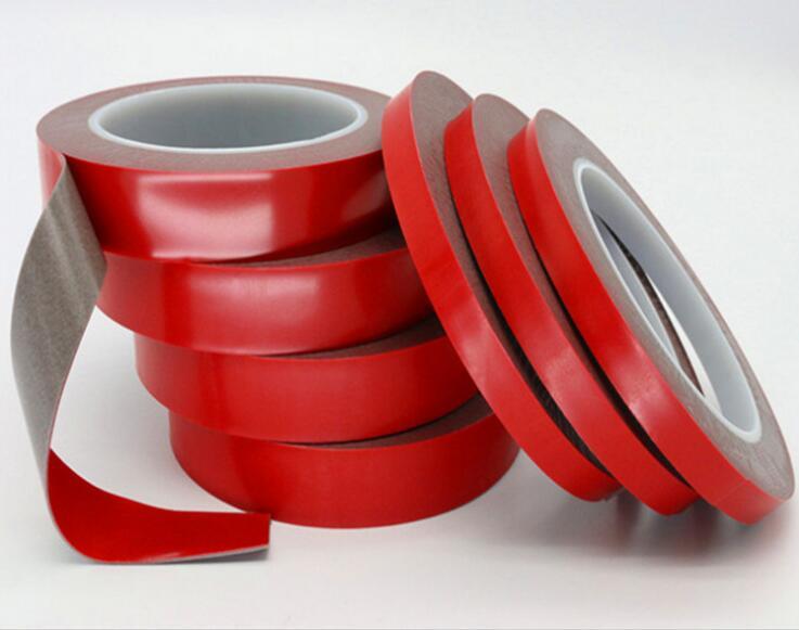 Kualitas Tinggi 3M Alternatif Otomotif Super Bening Transparan Dua Sisi Pemasangan VHB Perekat Acrylic Foam Tape