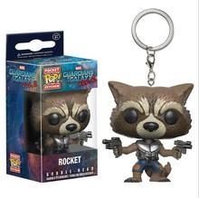 KC02 PVC Material Modell Spielzeug Stil Nach, der Guardians Galaxy pop cartoon action-figuren Schlüssel <span class=keywords><strong>Kette</strong></span>