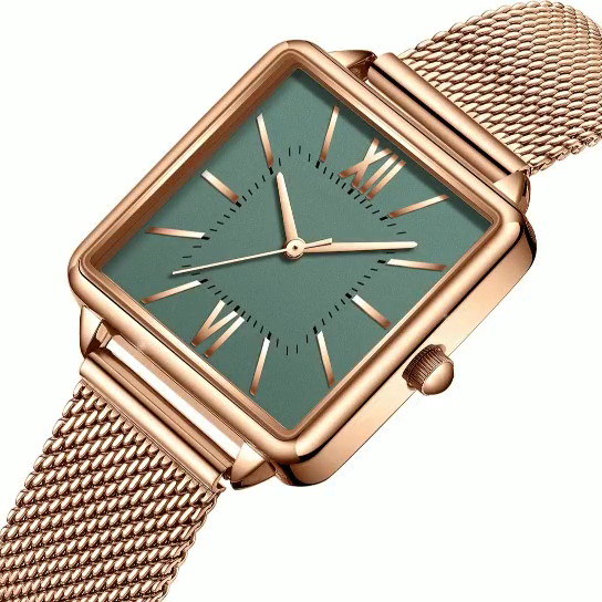 Simple and slim elegance girl watch  OEM Service Custom Logo Branded Watch Women  Wrist Watch