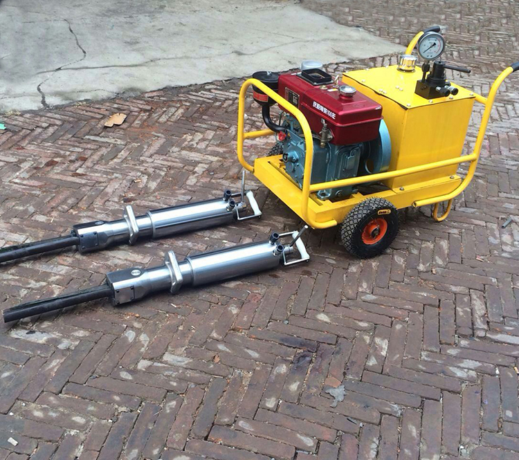 China supplier Hydraulic rock splitter for sale