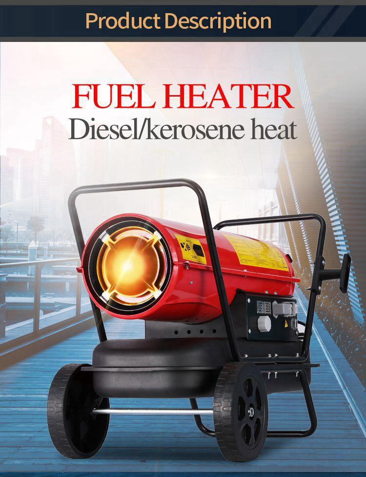 Портативный непрямой нагреватель дизельного топлива