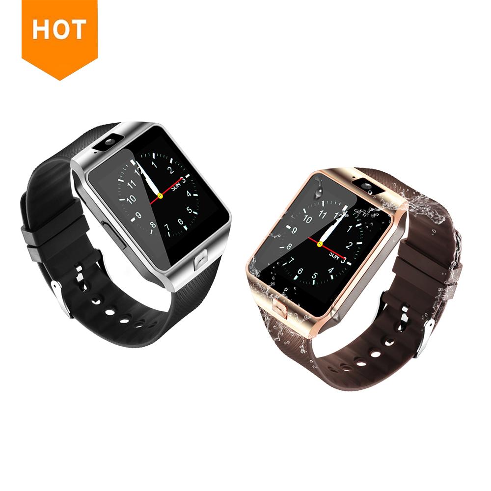 DZ 09 función de llamada phonewatch android DZ09 reloj inteligente teléfono con cámara SIM tarjeta inteligente para Huawei teléfono Android