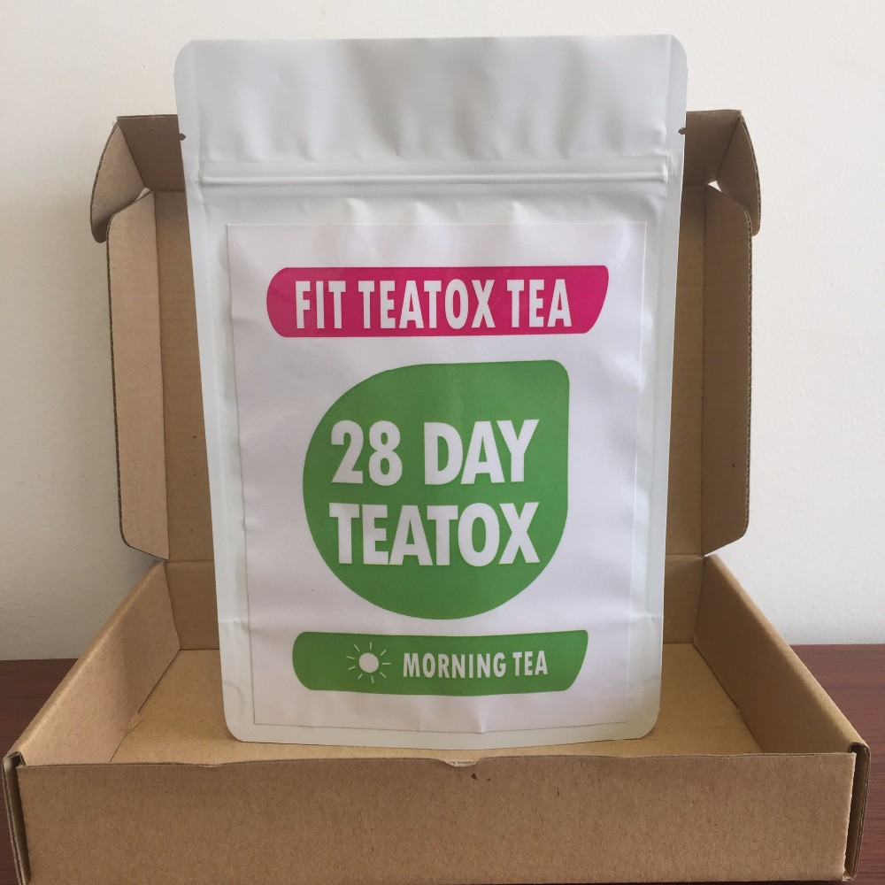 Skinny Mint Teatox 28 Day Tea For Detox Cleanse Weight Loss 28 Herbal Tea - 4uTea | 4uTea.com