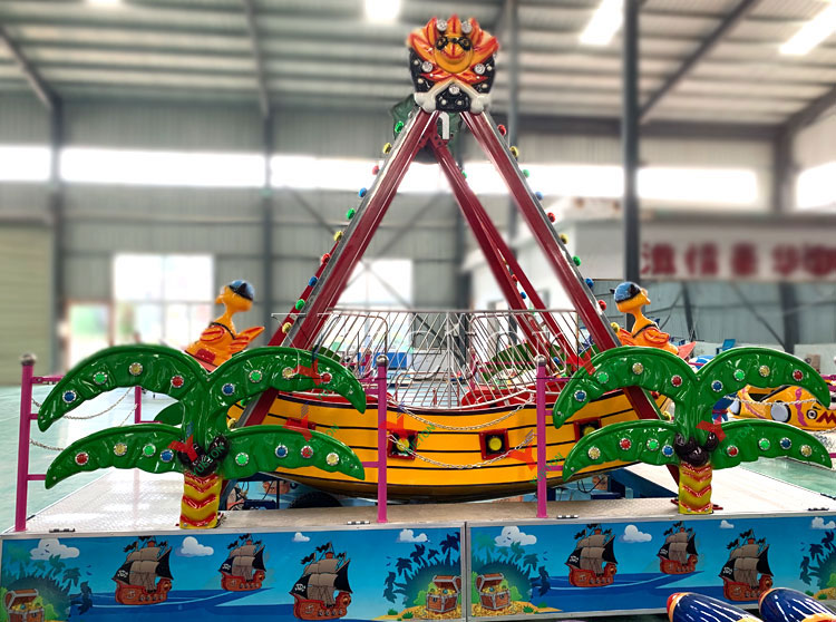 Kids Amusement Boat Swing Model Pirate Ship Rides