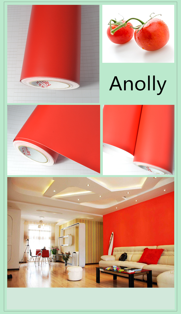 Dero glossy color vinyl sticker roll for cricut