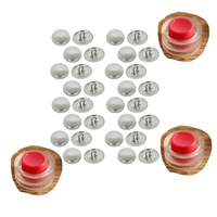 different sizes shank loop cover buttons