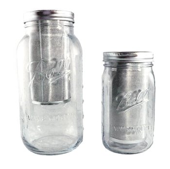 Stainless Steel Cold Brew Coffee Filter For Wide Mouth Mason Jar