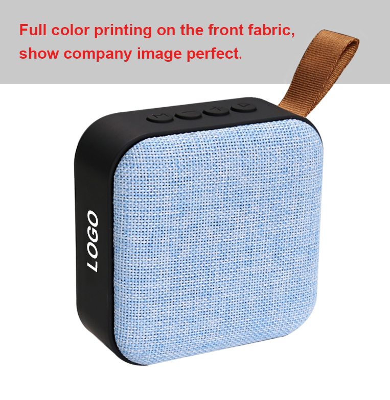 ZOODO Hifi Deep Bass Sound  Portable Fabric  Promotional Cheapest Bluetooth Speaker USB support Wireless Speaker