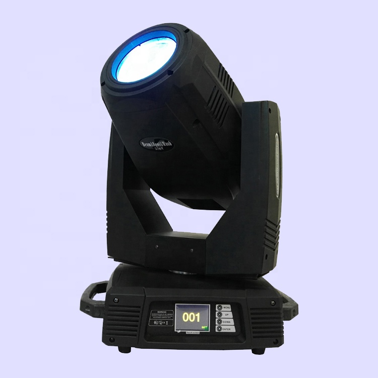 350 Watt 17R 350Watt Focus Zoom Frost Foggy Rainbow Hybrid Spot Wash Beam 3in1 R17 350W Moving Head TV Station Theatre Light