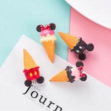3 шт./лот, новинка, 3D брелок для мороженого из смолы, подвески с крючком для самостоятельного изготовления ювелирных изделий, ожерелье, брело...(Китай)
