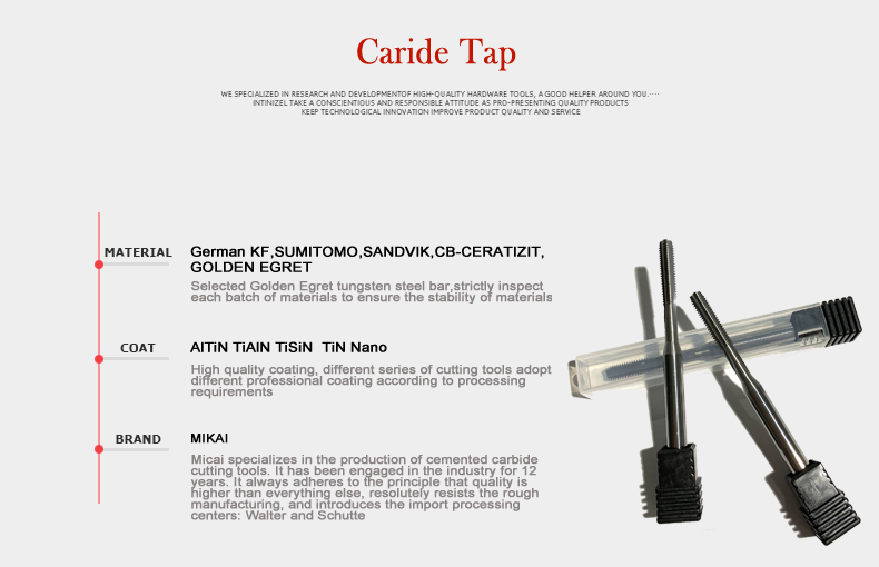 M3 M3×0.5 Super hard //coated tap machine tap// processing stainless steel