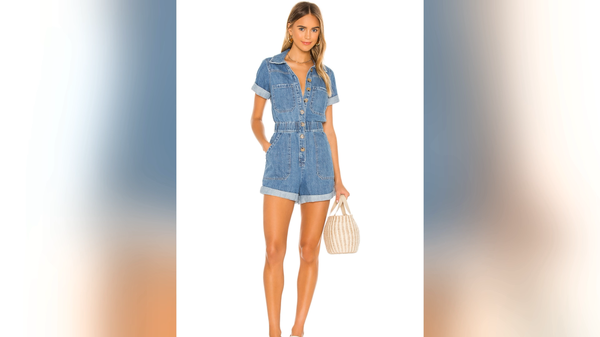 Manufacturer OEM Latest Design Ladies Jeans Jumpsuits Rompers Womens Summer Clothing