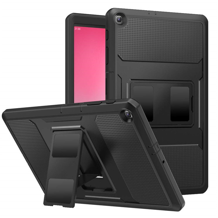 MoKo Full Cover Shockproof Hybrid Armor Case for Samsung Galaxy Tab A 10.1 T510/T515 with Screen Protector