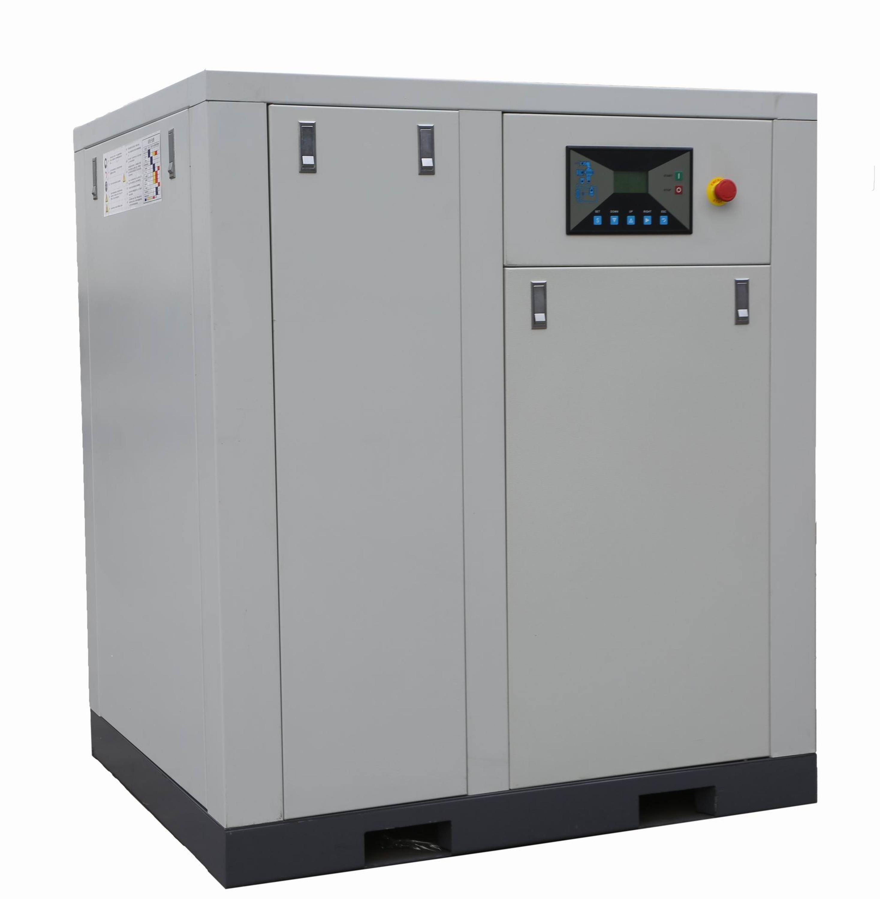Hot sale oil lubricated 45kw 60hp gas compressor XLAM60A-J14 with high efficient air end