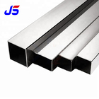 tubo rectangular de acero inoxidable AISI 201304 316 ss hollow stainless steel square pipe/tube